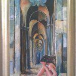 Key to eternity, 40x80 cm. Ikke til salg