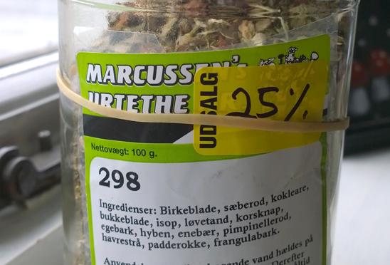 Marcussens Urtethe Nr. 298 – mod nyresten